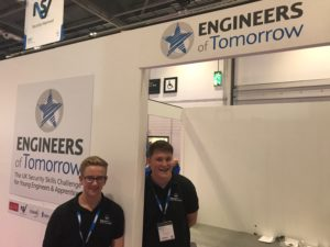Apprentices at Engineers of Tomorrow