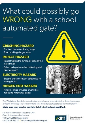 DHF Gate Safety Week