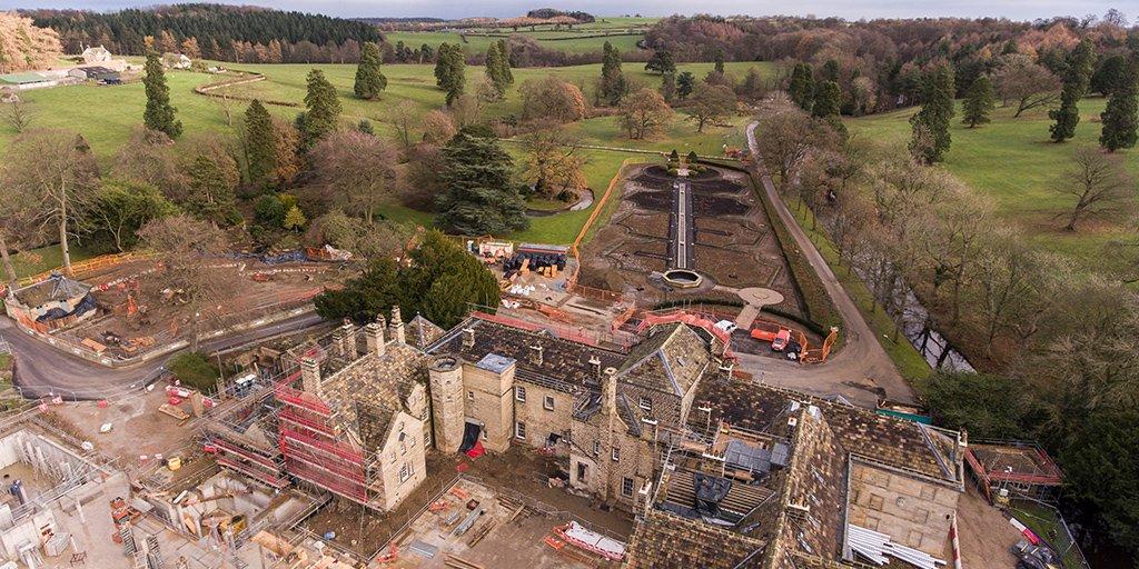 Grantley Hall build
