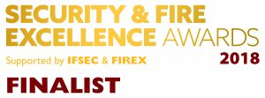Security & Fire Excellence Awards logo 2018
