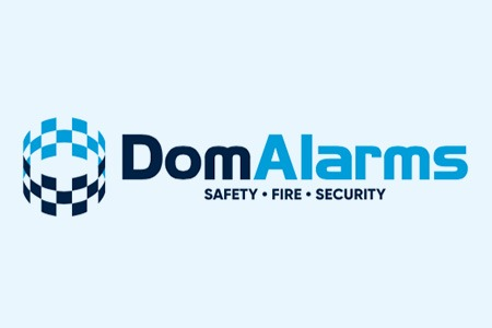 dom alarms logo