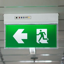 Commercial emergency lighting
