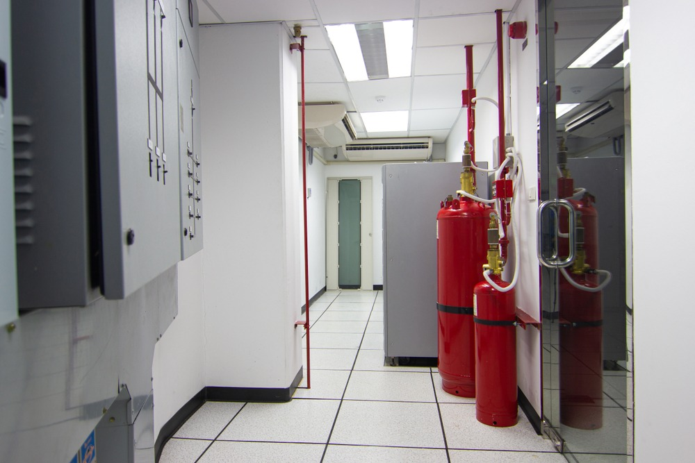 Data Centre Fire Suppression