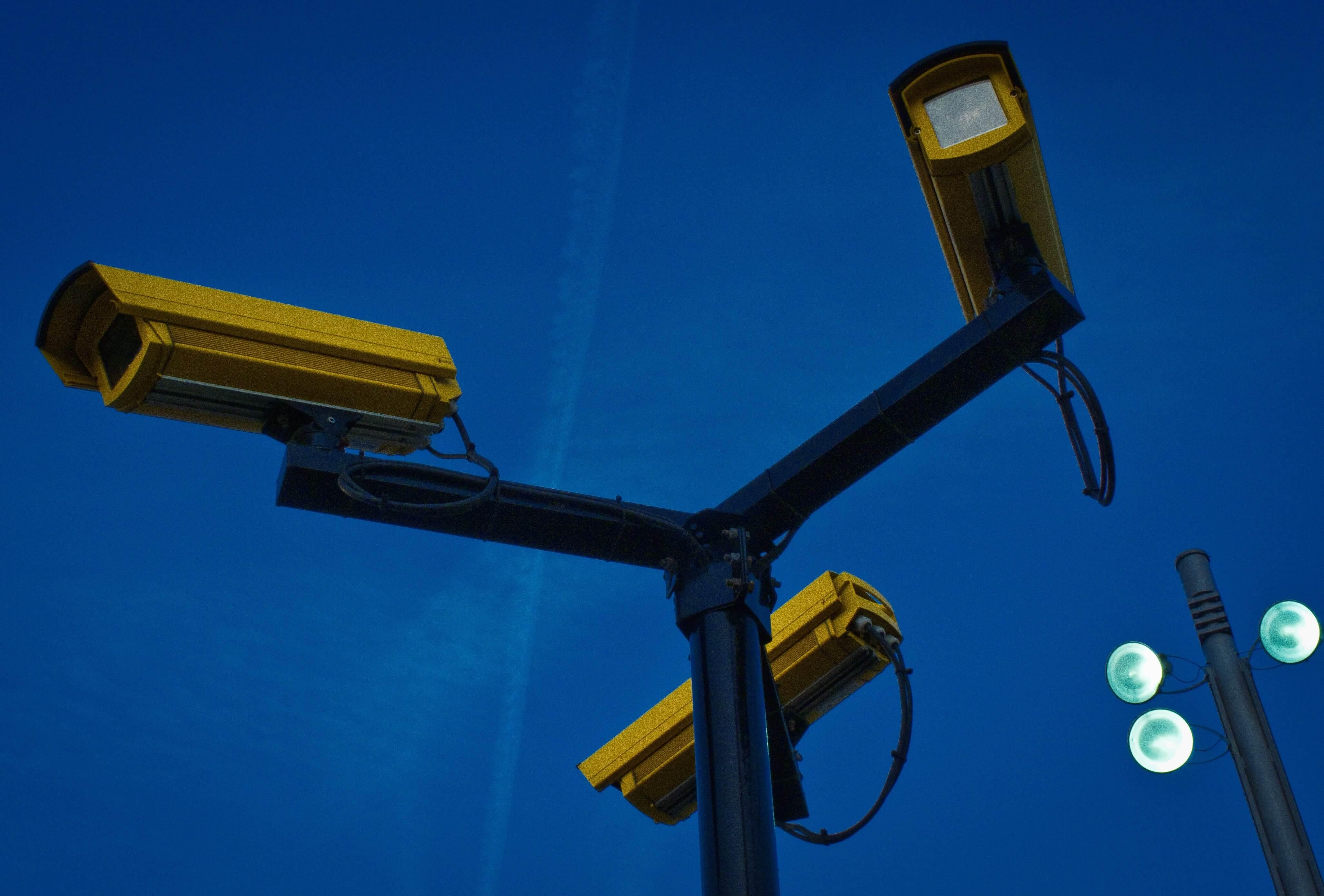 Day and night CCTV camera