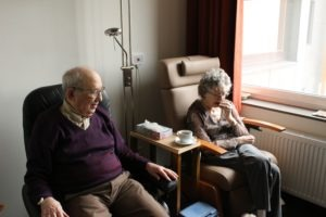 Elderly people most at risk