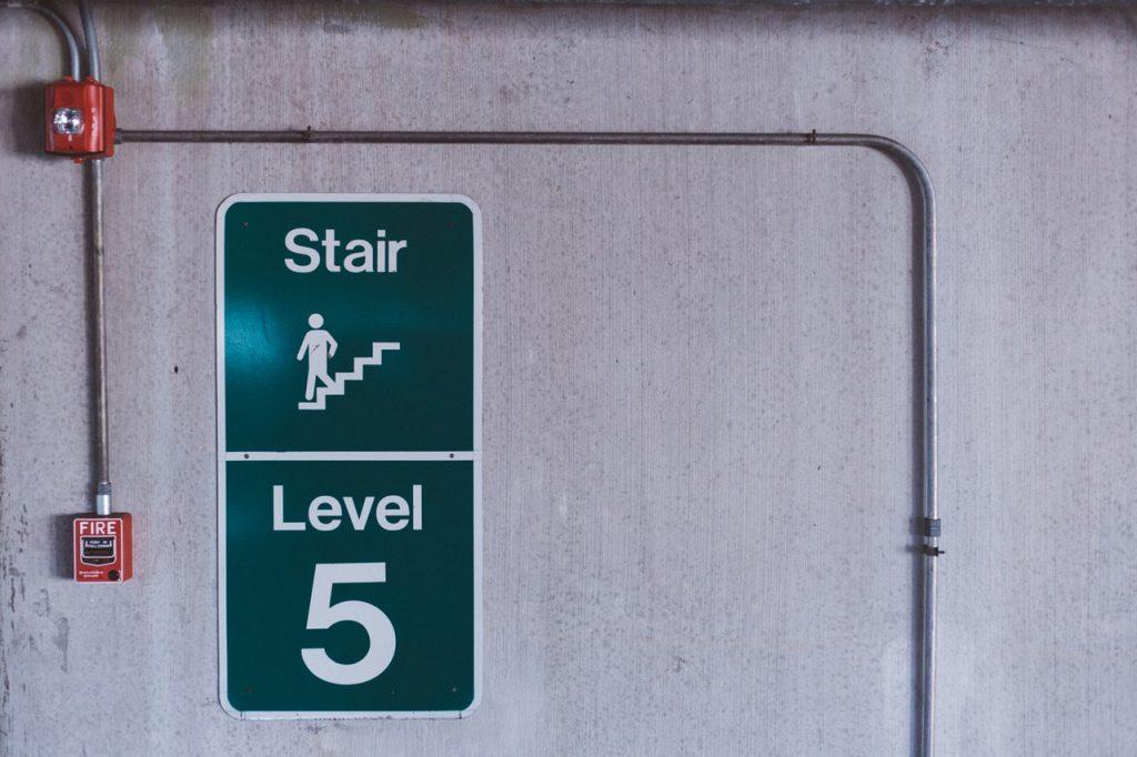 fire alarm system escape route